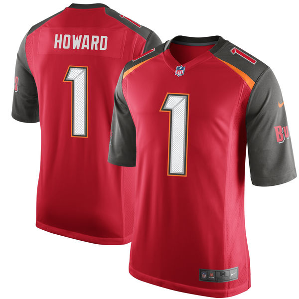 Nike Tampa Bay Buccaneers O.J. Howard Red 2017 Draft Pick Elite Jersey