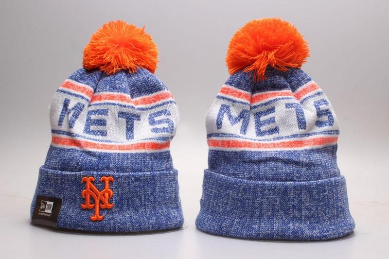 Mets Team Logo Knit Hat YP