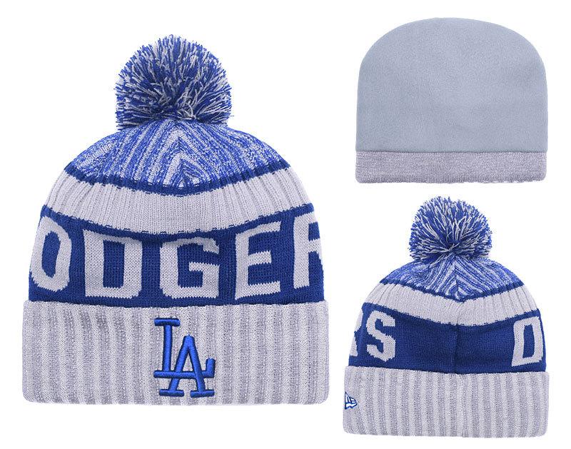 Dodgers Fresh Logo Knit Hat YD