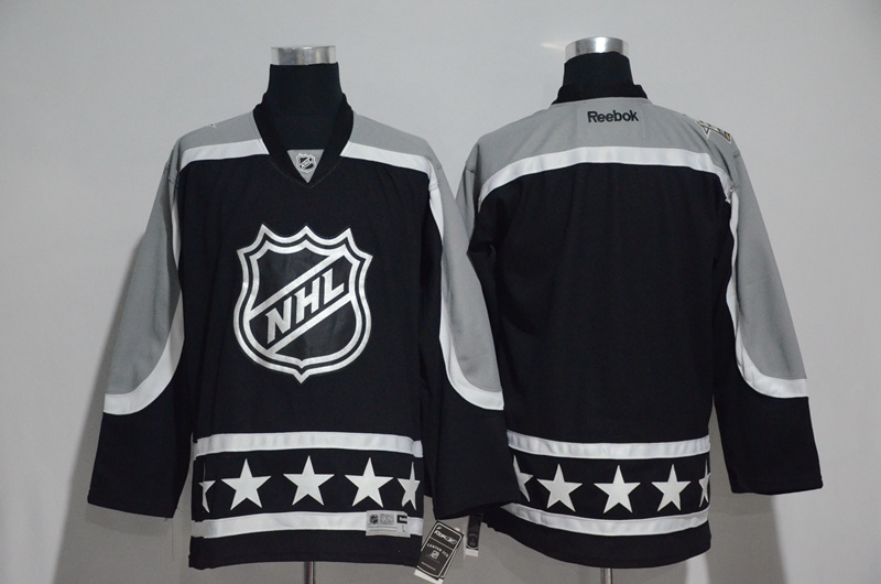 NHL Blank Black Pacific Division 2017 NHL All-Star Game Premier Jersey