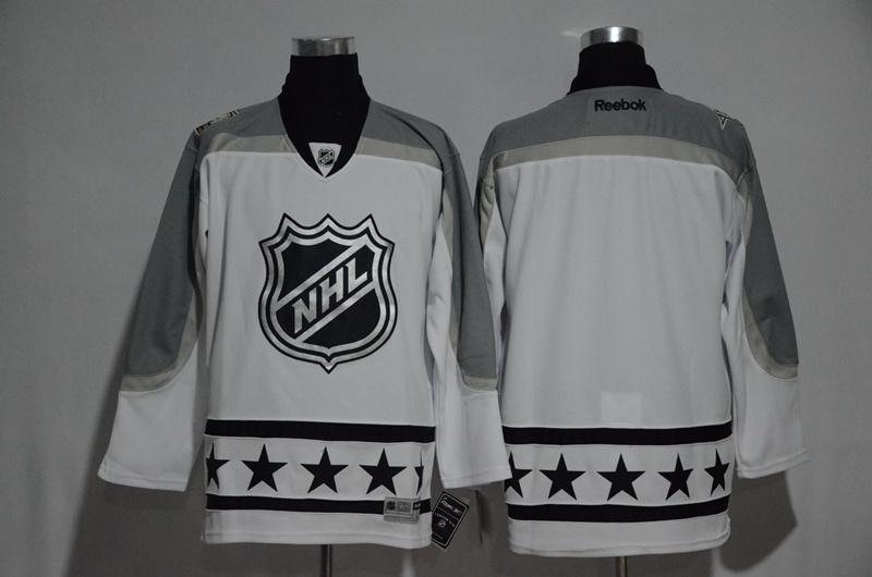 NHL Blank White Metropolitan Division 2017 NHL All-Star Game Premier Jersey