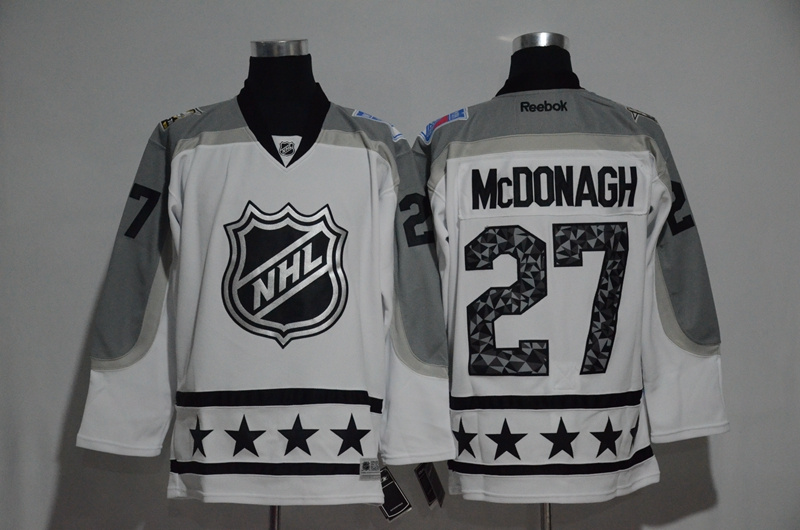 Rangers 27 Ryan McDonagh White Metropolitan Division 2017 NHL All-Star Game Premier Jersey