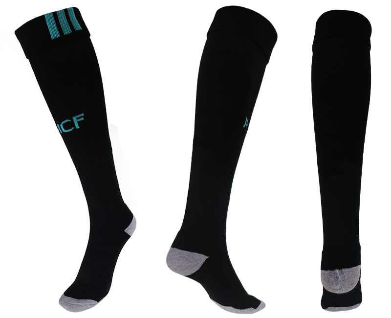2017-18 Real Madrid Away Youth Soccer Socks