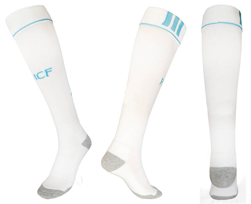 2017-18 Real Madrid Home Youth Soccer Socks