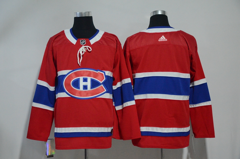 Canadiens Blank Adidas Jersey