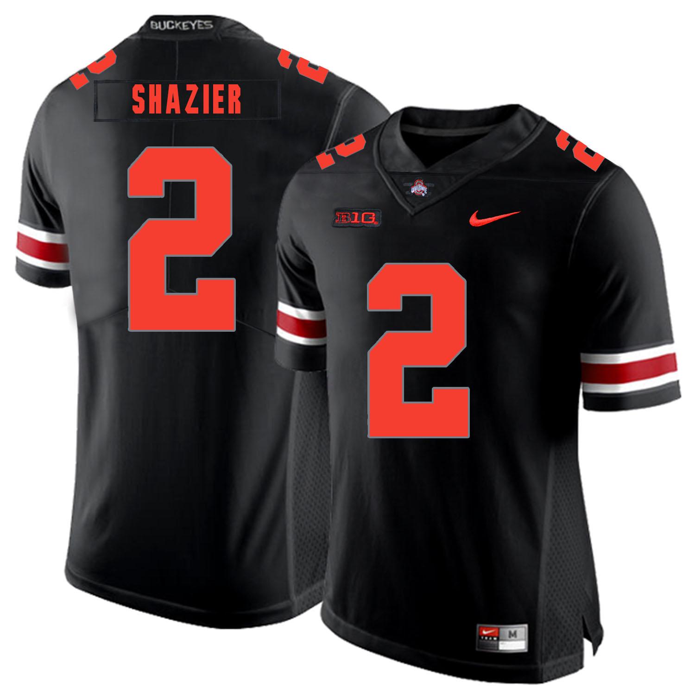 Ohio State Buckeyes 2 Ryan Shazier Black Shadow Nike College Football Jersey