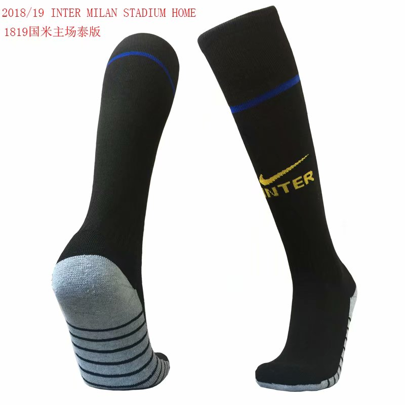 2018-19 Inter Milan Home Soccer Socks