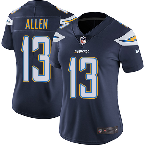 Nike Chargers 13 Keenan Allen Navy Women Vapor Untouchable Limited Jersey