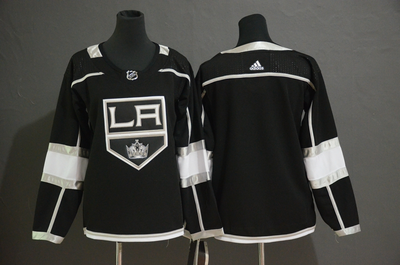 Kings Blank Black Women Adidas Jersey