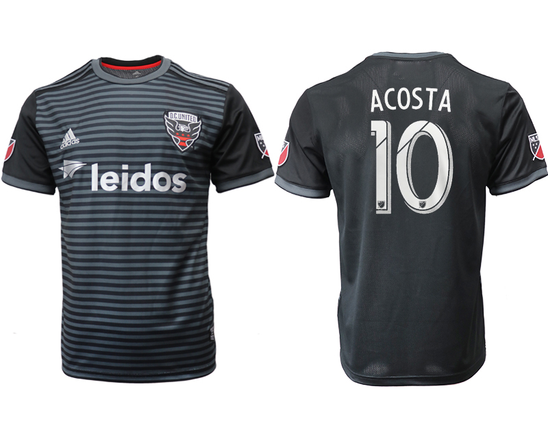 2018-19 D.C. United 10 ACOSTA Home Thailand Soccer Jersey