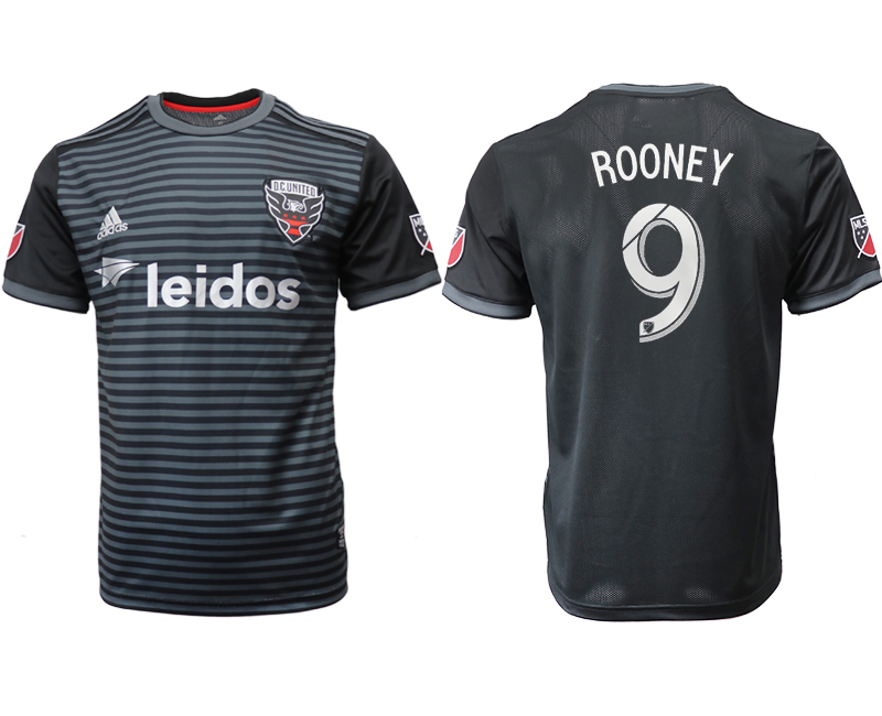 2018-19 D.C. United 9 ROONEY Home Thailand Soccer Jersey