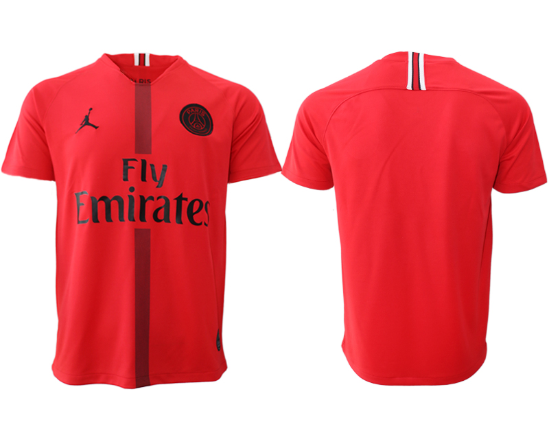 2018-19 Paris Saint-Germain Red Goalkeeper Thailand Soccer Jersey