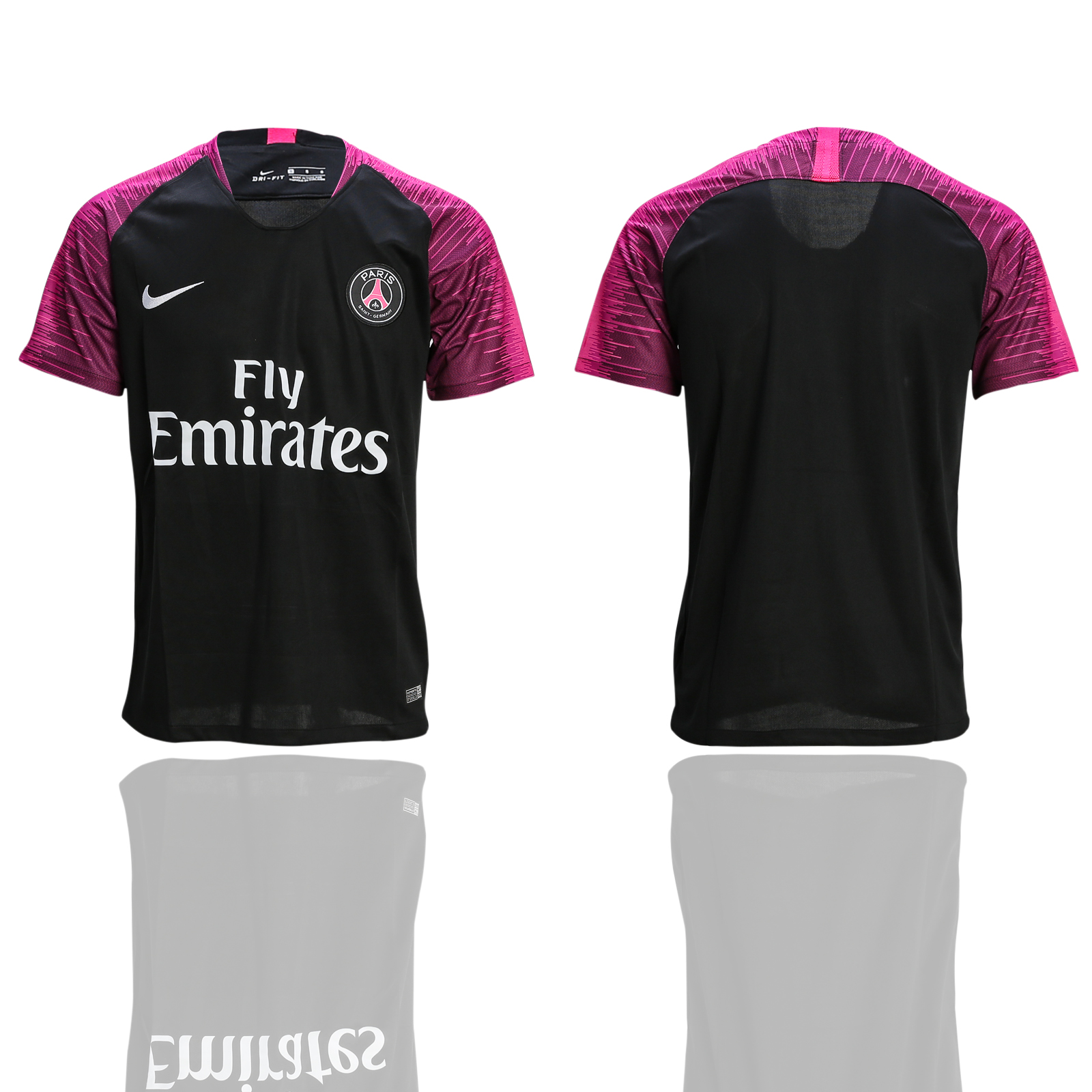 2018-19 Paris Saint-Germain Black Training Thailand Soccer Jersey