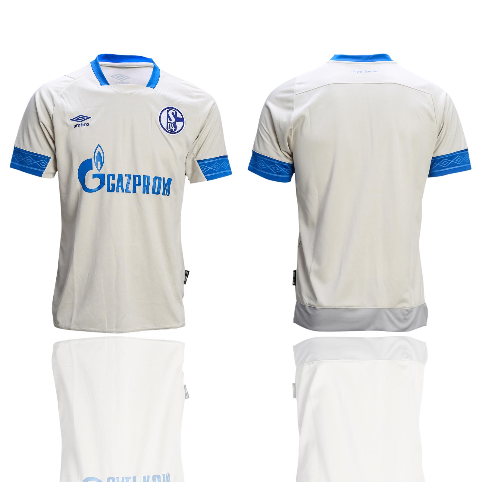 2018-19 Schalke 04 Away Soccer Thailand Soccer Jersey
