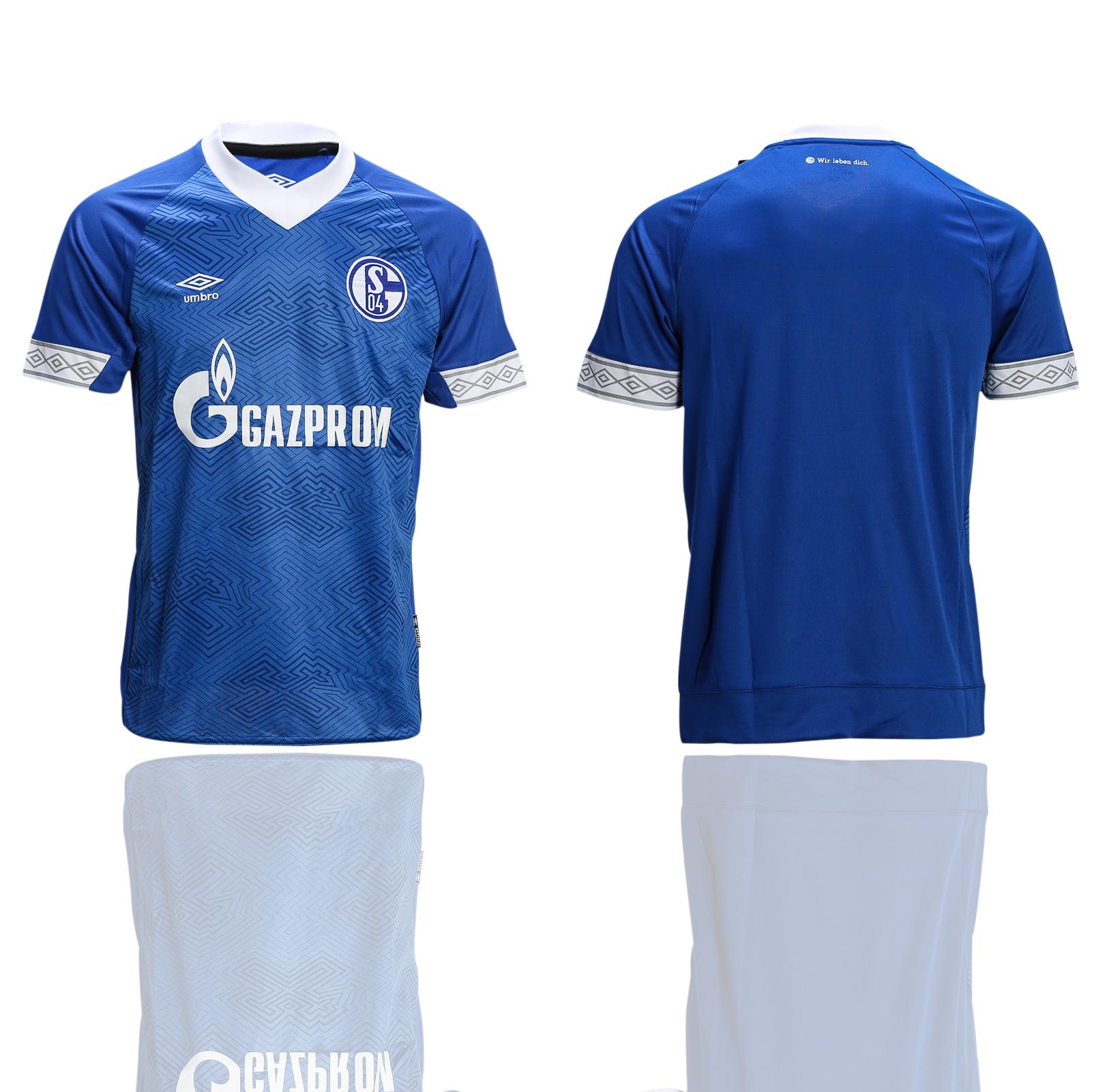 2018-19 Schalke 04 Home Soccer Thailand Soccer Jersey