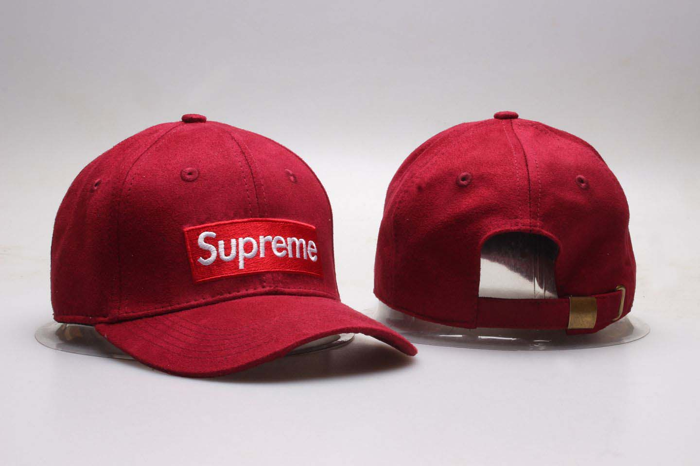 Supreme Fresh Big Logo Red Snapback Adjustable Hat YP