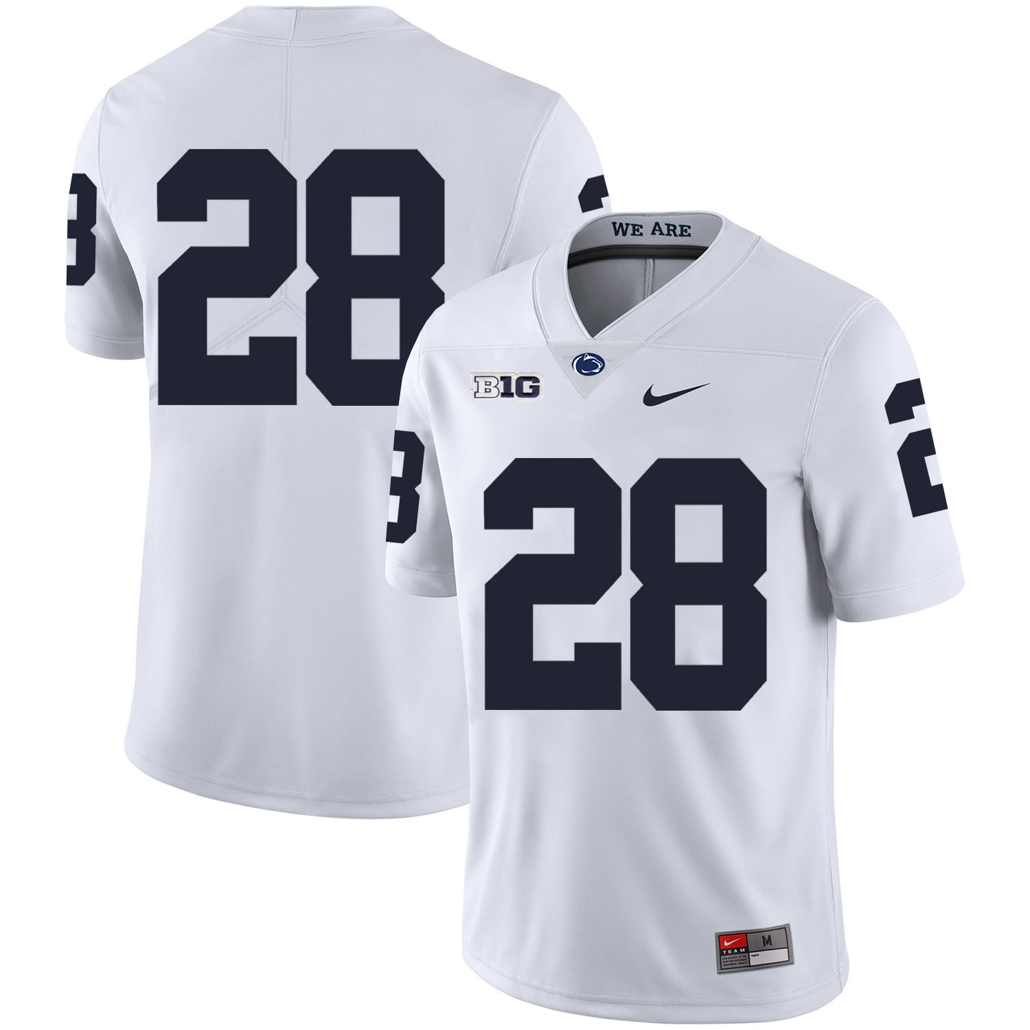 Penn State Nittany Lions 28 Troy Apke White Nike College Football Jersey