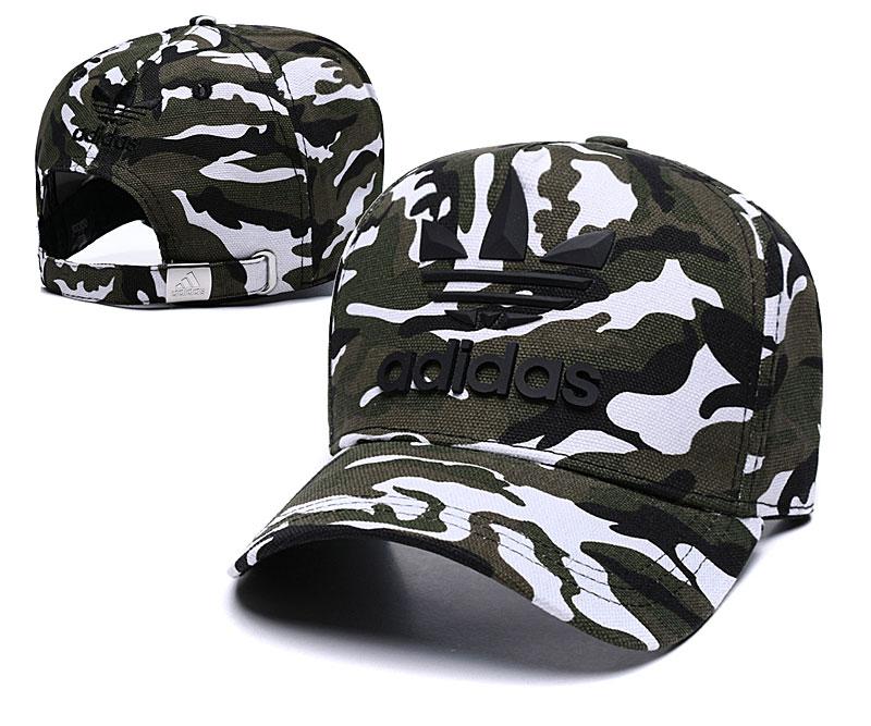 Adidas Originals Classic Camo Camo Peaked Adjustable Hat TX