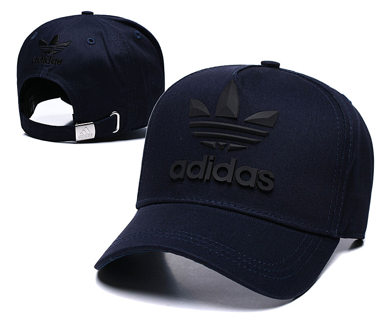 Adidas Originals Classic Navy Peaked Adjustable Hat TX