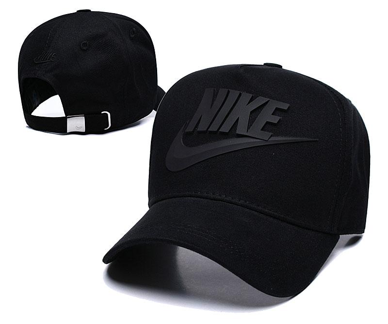 Nike Classic Black Peaked Adjustable Hat TX