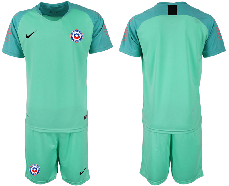 2018-19 Chile Green Goalkeeper Soccer Jersey
