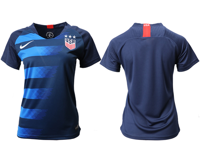2018-19 USA Away Women Soccer Jersey