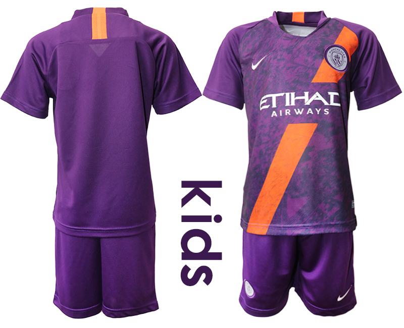 2018-19 Manchester City Youth Third Away Soccer Jersey