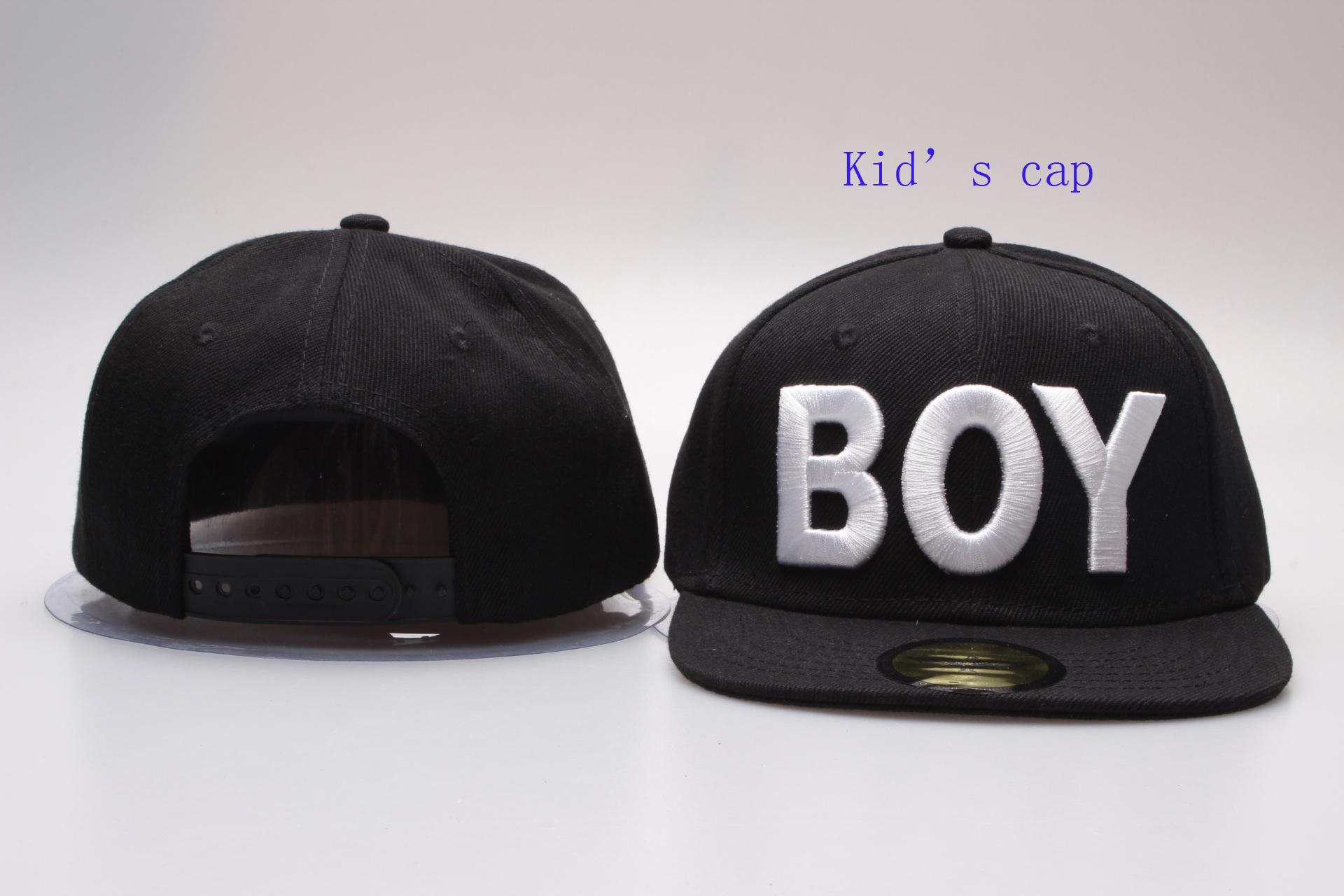 Boy Logo Kid's Snapback Adjustable Hat YP