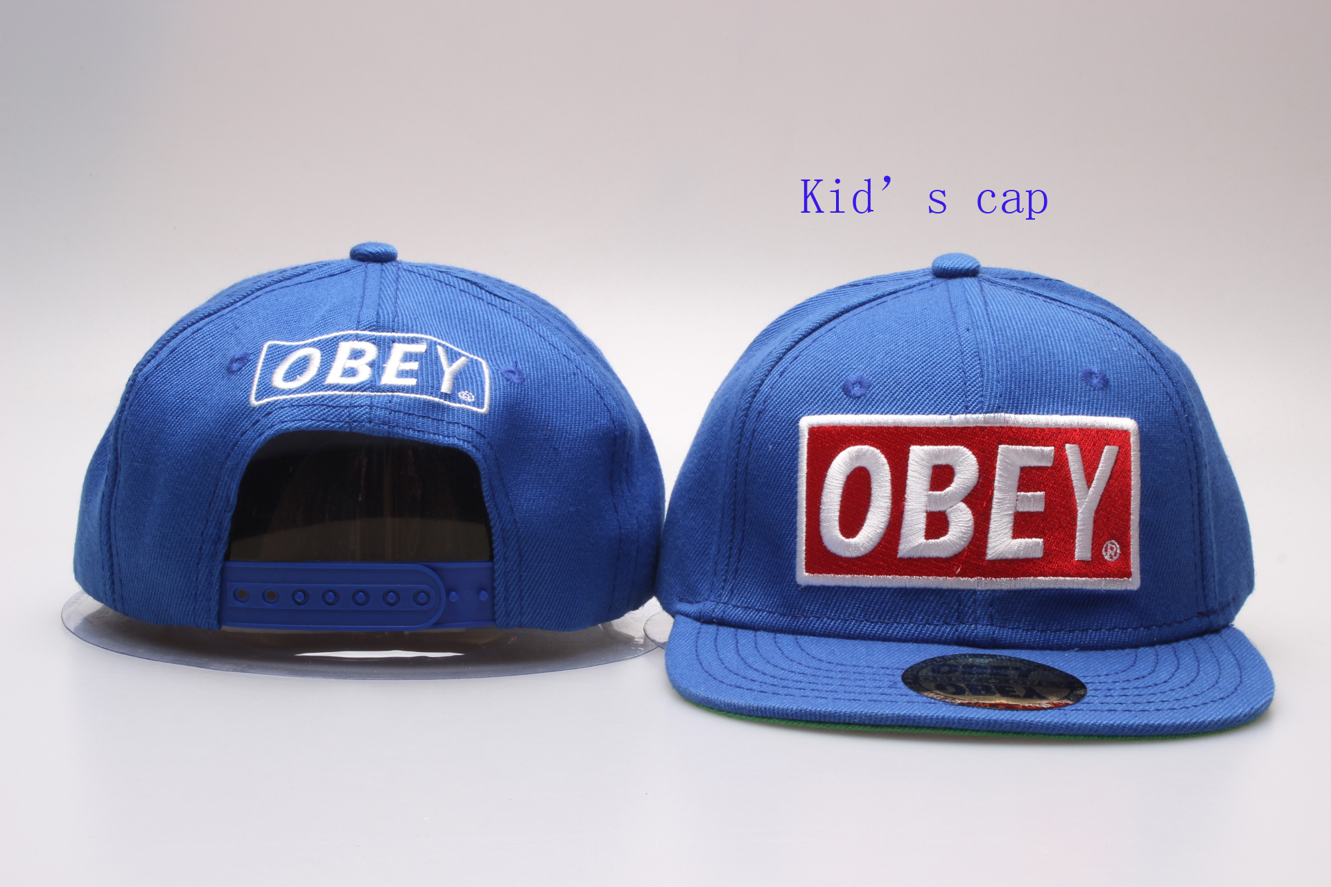 Obey Brand Logo Kid's Snapback Adjustable Hat YP
