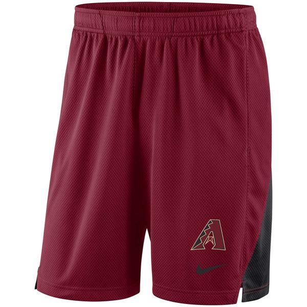 Men's Arizona Diamondbacks Nike Red Franchise Performance Shorts