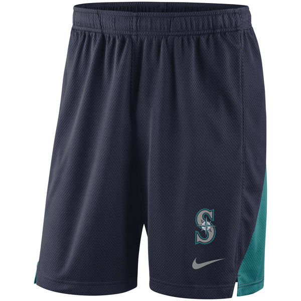 Men's Seattle Mariners Nike Navy Franchise Performance Shorts