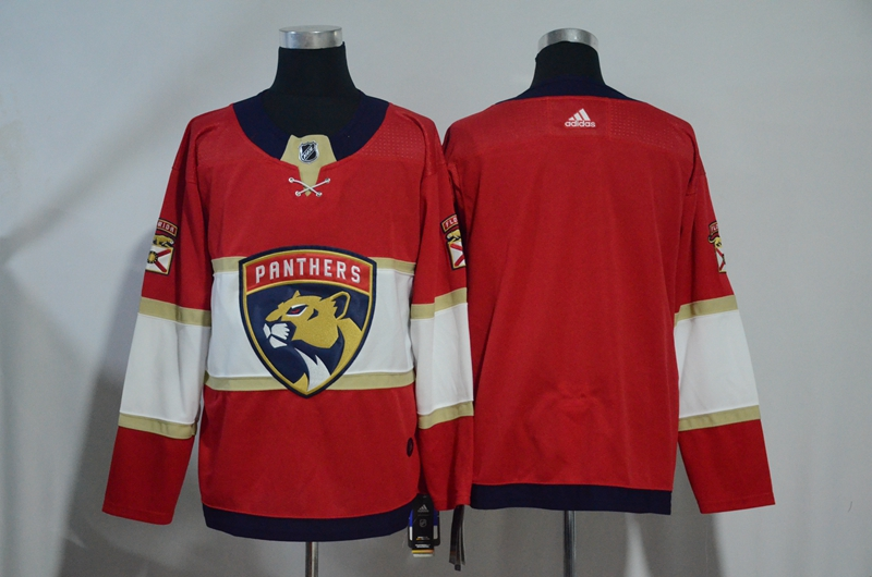 Panthers Blank Red Adidas Jersey