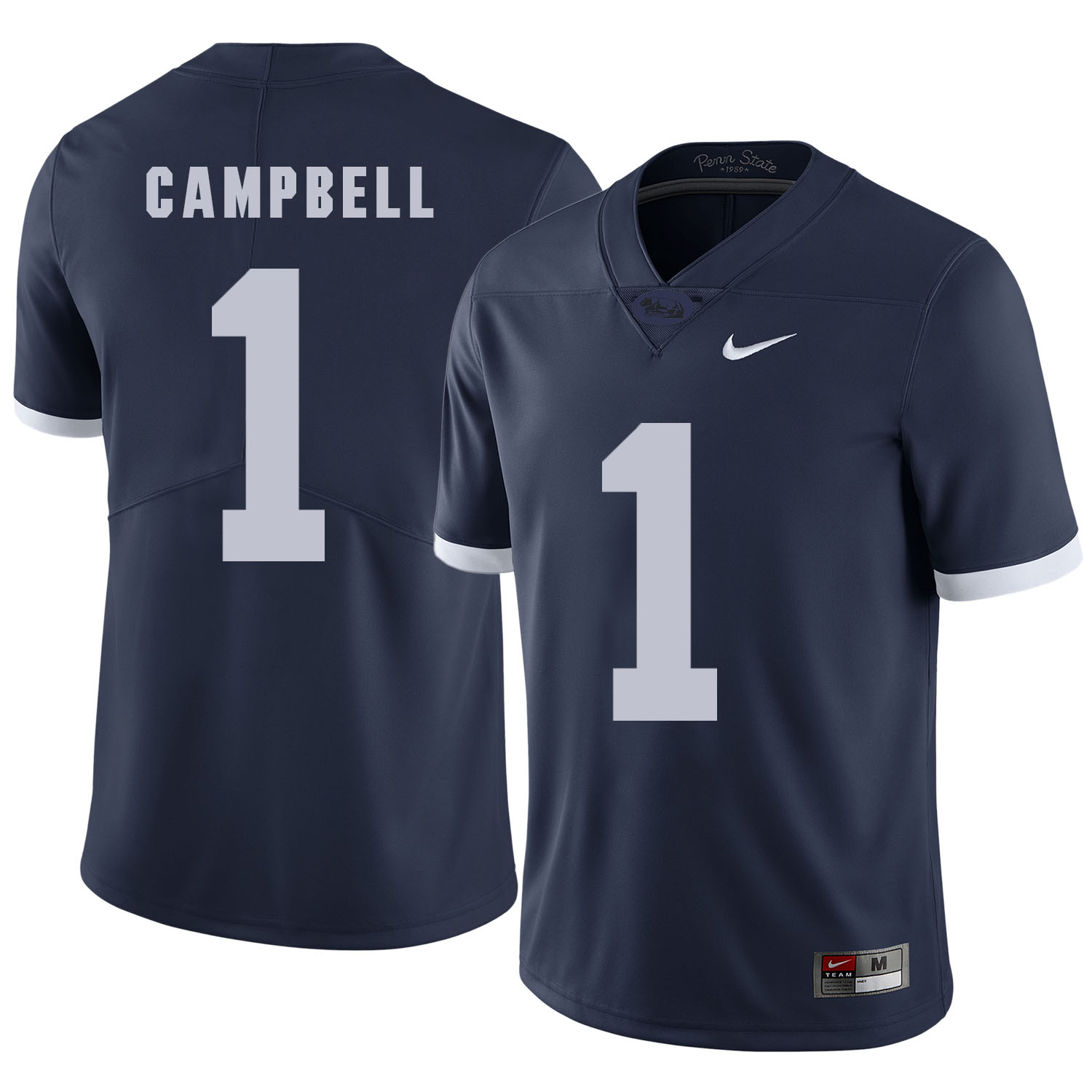 Penn State Nittany Lions 1 Chris Campbell Navy College Football Jersey