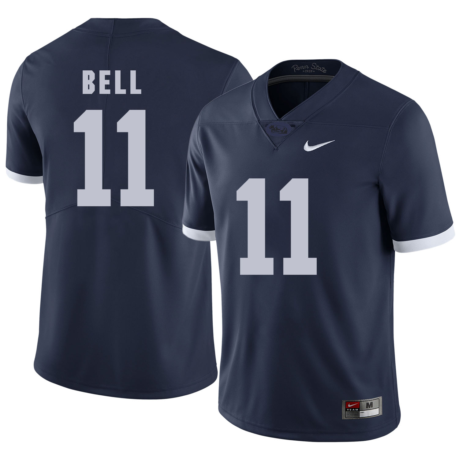Penn State Nittany Lions 11 Brandon Bell Navy College Football Jersey