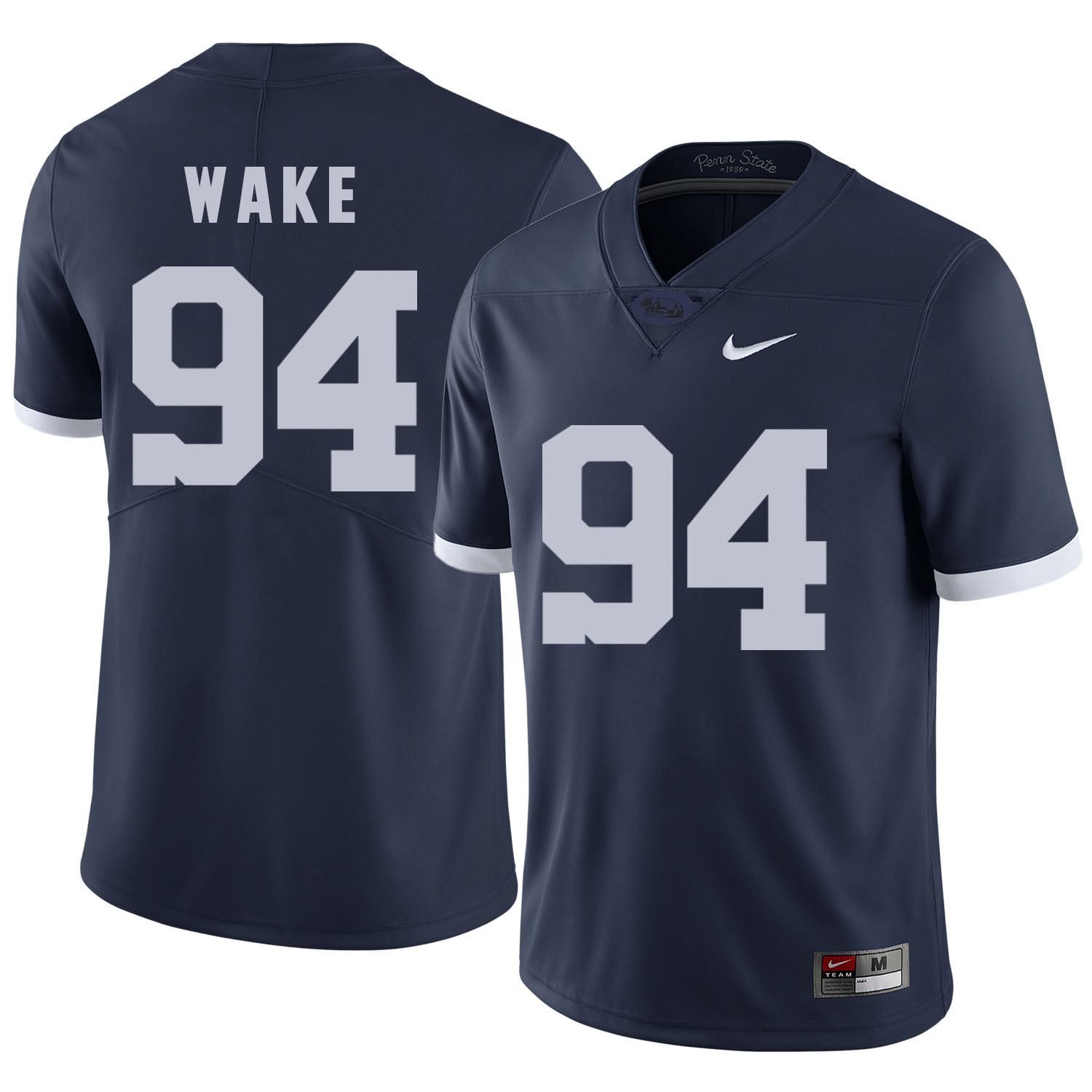 Penn State Nittany Lions 94 Cameron Wake Navy College Football Jersey