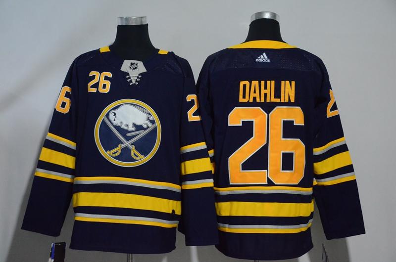 Sabres 26 Rasmus Dahlin Navy Adidas Jersey