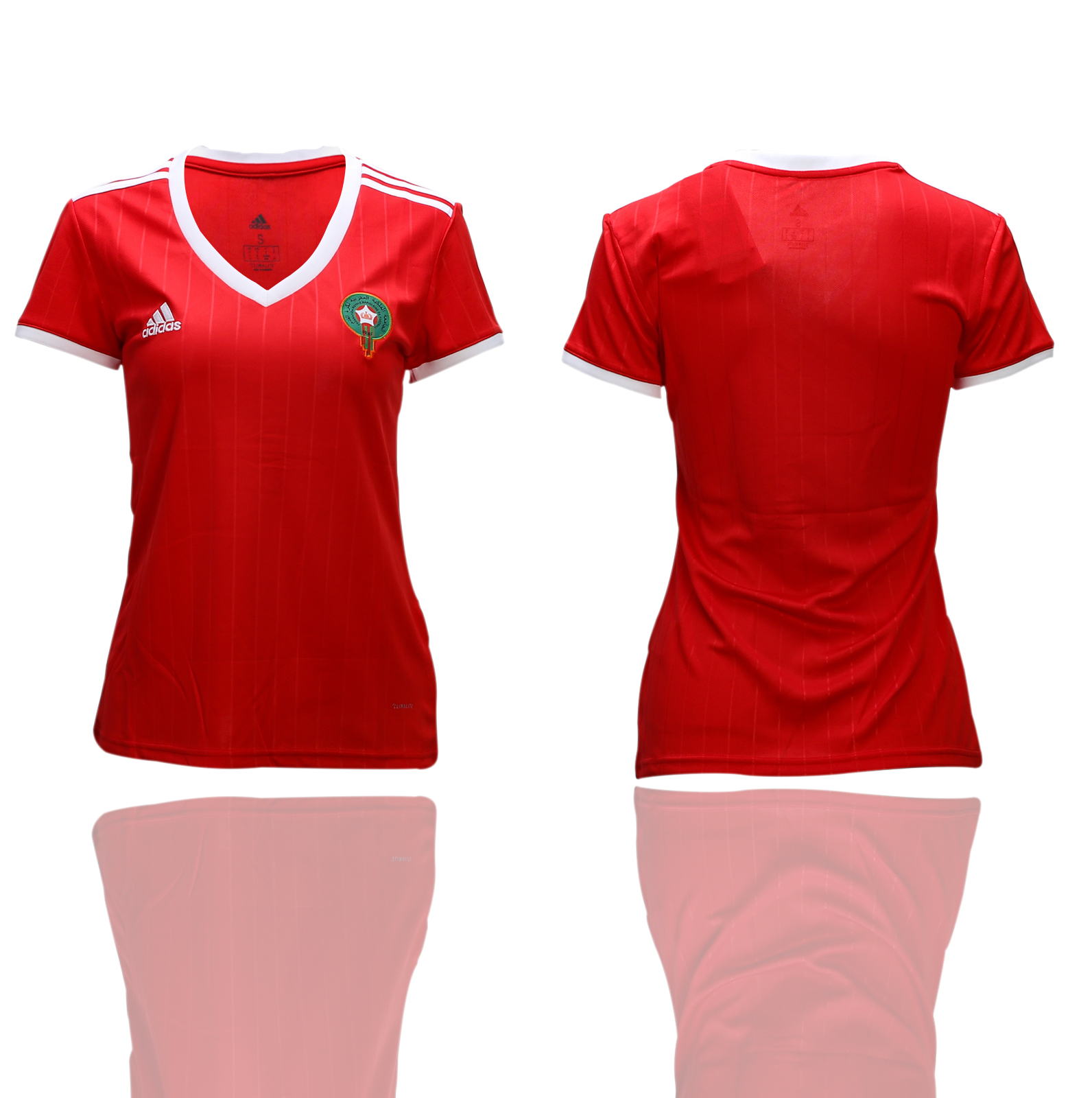Morocco Home Women 2018 FIFA World Cup Soccer Jersey