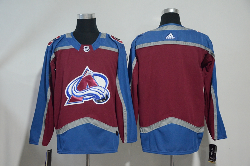 Avalanche Blank Red Adidas Jersey