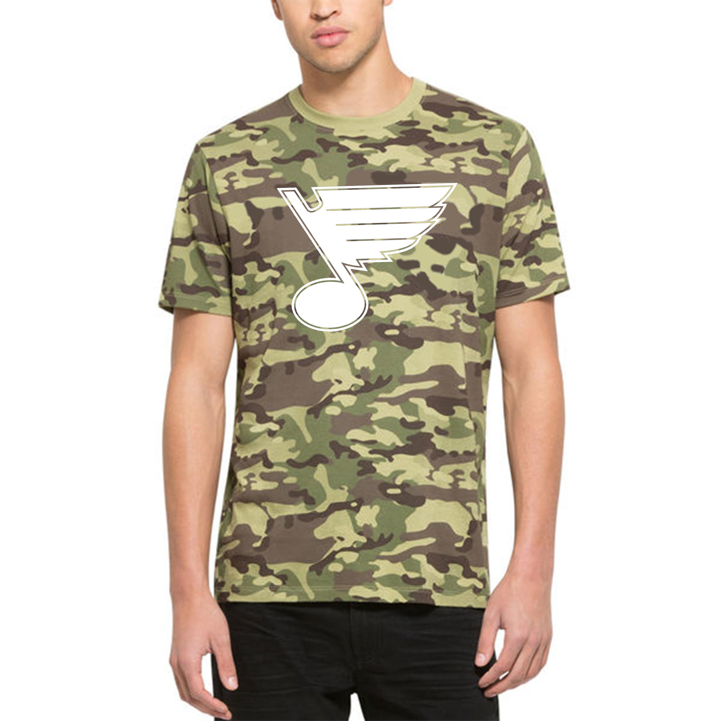 St. Louis Blues '47 Alpha T-Shirt Camo