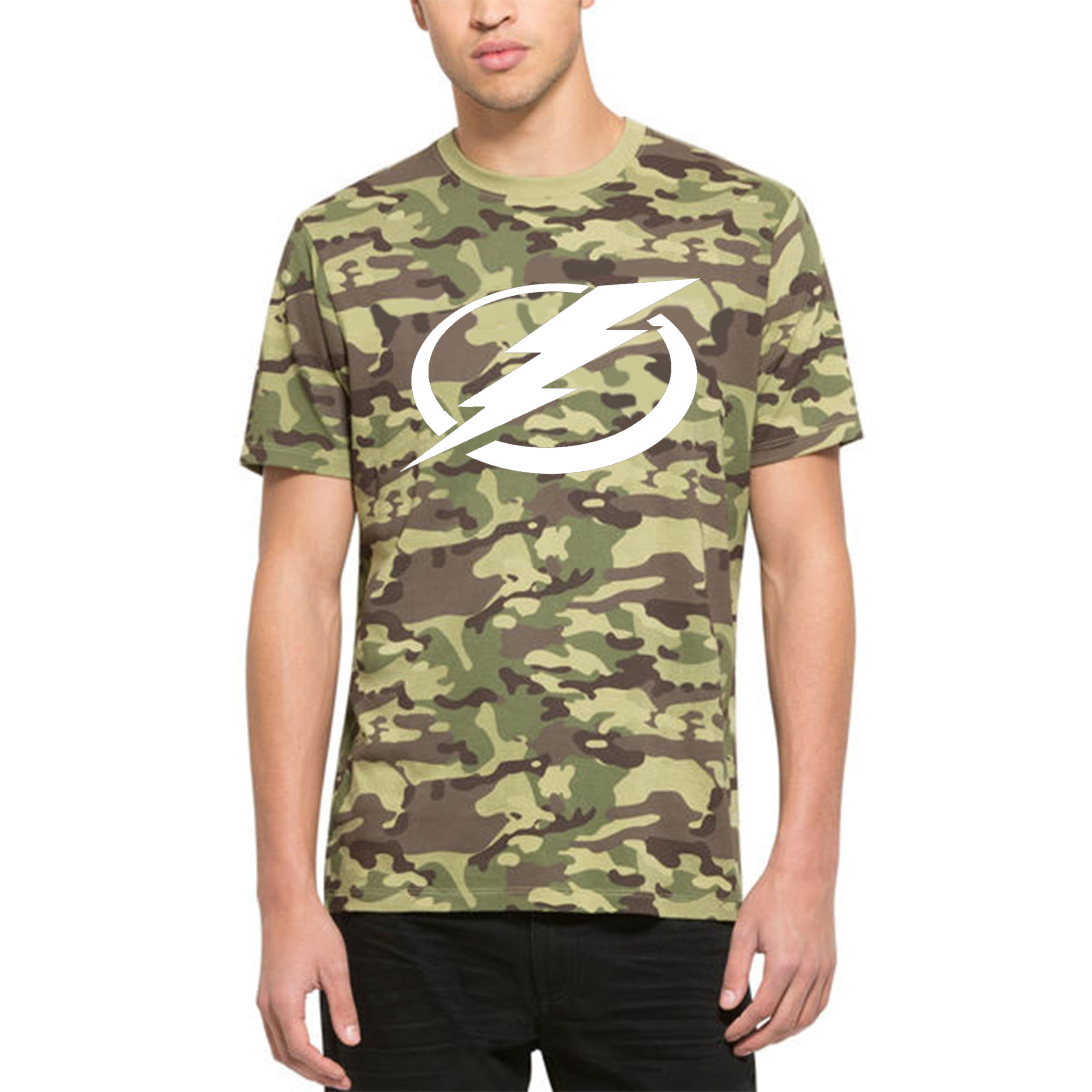 Tampa Bay Lightning '47 Alpha T-Shirt Camo