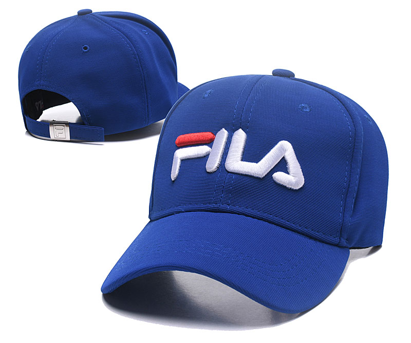 Fila Classic Royal Sports Peaked Adjustable Hat SG