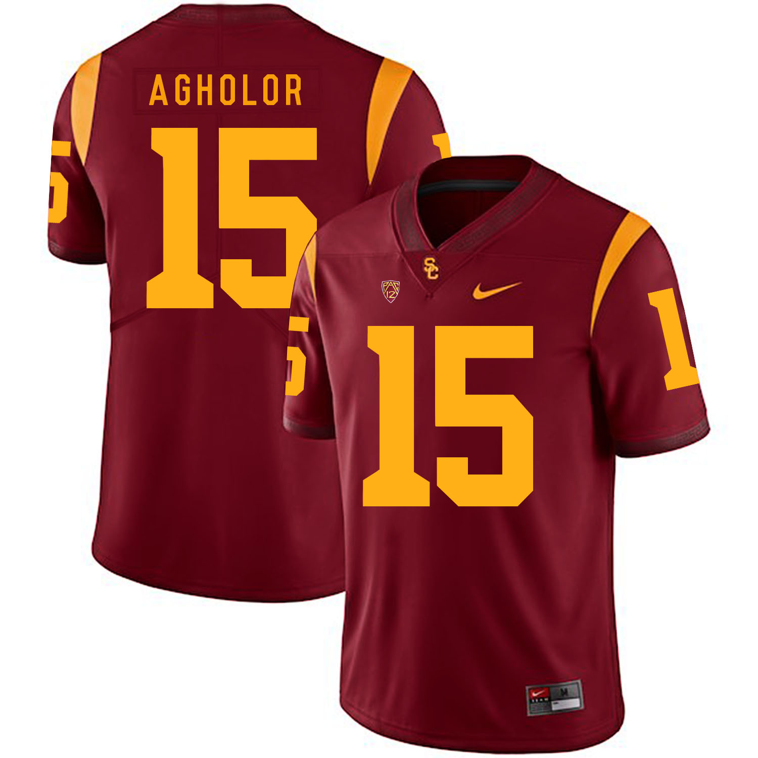 USC Trojans 15 Nelson Agholor Red College Football Jersey