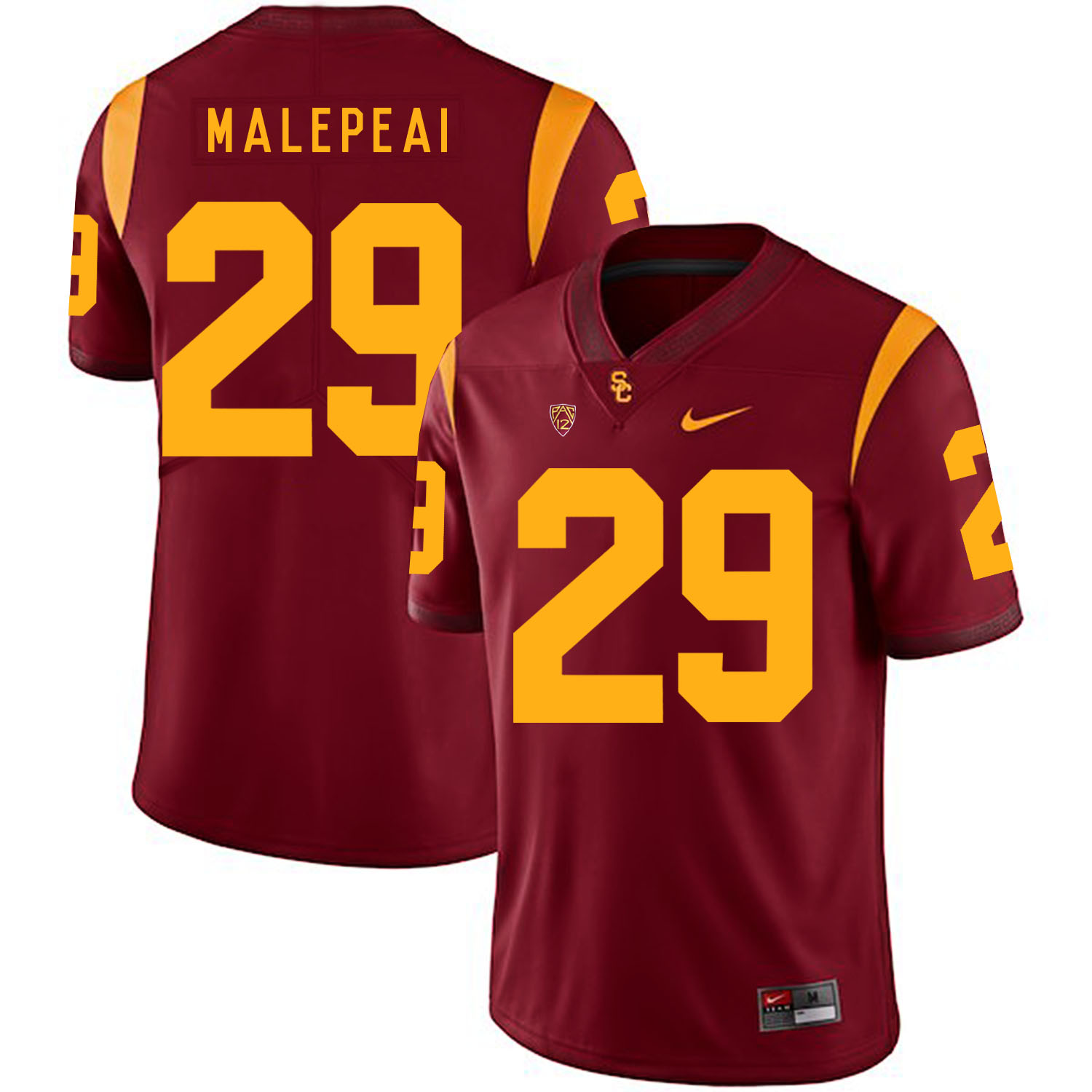 USC Trojans 29 Vavae Malepeai Red College Football Jersey