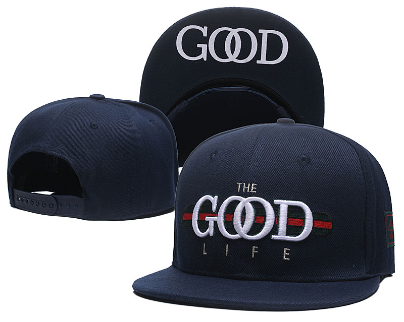 The Good Life Navy Fashion Adjustable Hat SG