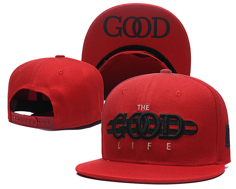 The Good Life Red Fashion Adjustable Hat SG