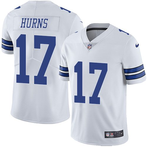 Nike Cowboys 17 Allen Hurns White Youth Vapor Untouchable Limited Jersey