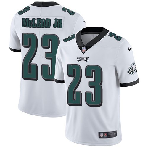 Nike Eagles 23 Rodney McLeod Jr White Vapor Untouchable Limited Jersey