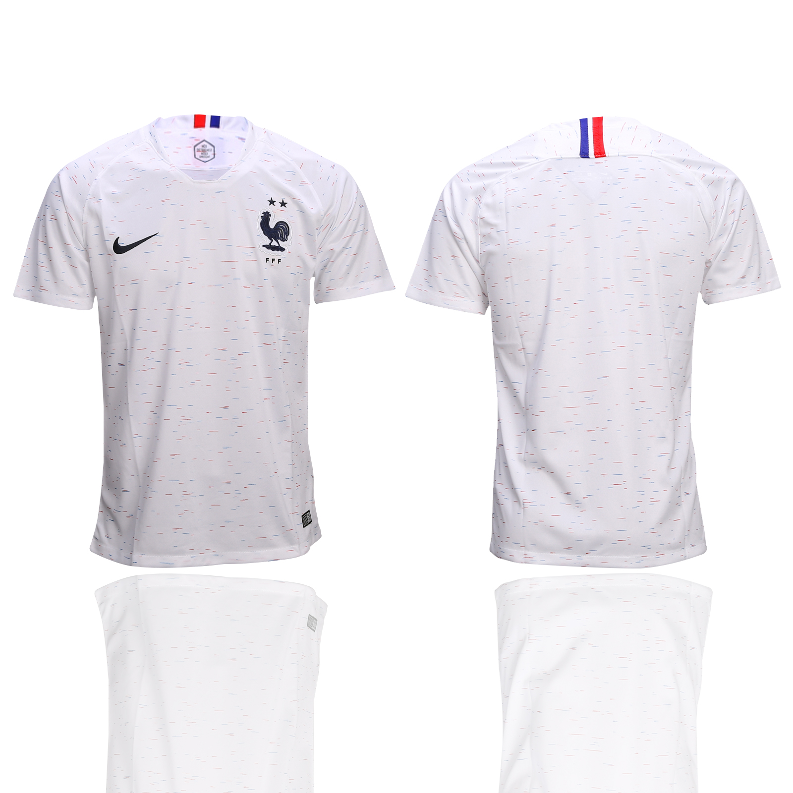 France Away 2-Star 2018 FIFA World Cup Thailand Soccer Jersey