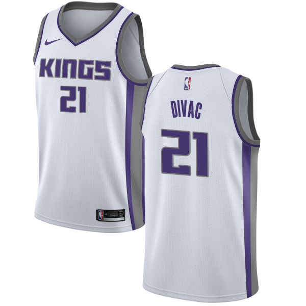 Kings 21 Vlade Divac White Women Association Edition Nike Swingman Jersey