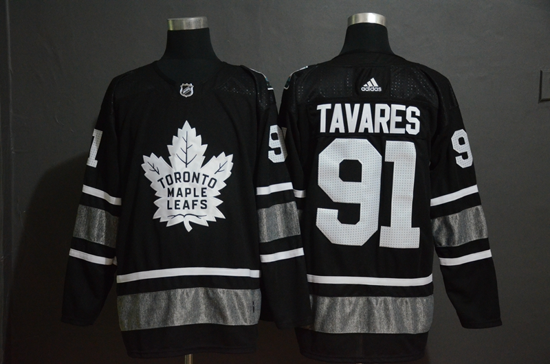 Maple Leafs 91 John Tavares Black 2019 NHL All-Star Adidas Jersey